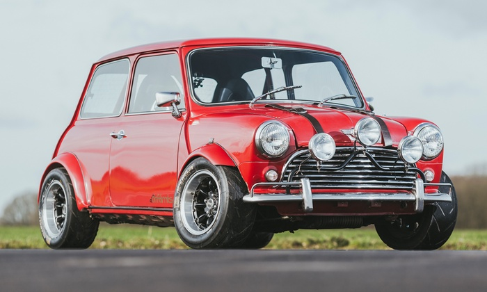 Italian Job Mini Experience Drift Limits Groupon