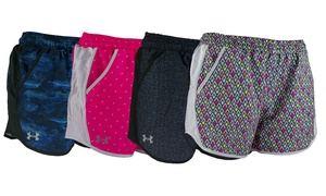 Under Armour Women's UA Fly-By Printed Shorts