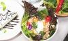 ガパオライス+ハーフケーキ+サラダ+1ドリンク