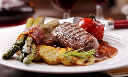 Sirloin Steak with Glass of Wine or Bottle of Beer for Two or Four at Esca (Up to 52% Off)