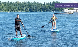 Northwest Paddle Surfers: Two-Hour Stand-Up Paddleboard Rental for One, Two, or Four at Northwest Paddle Surfers (Up to 50% Off)
