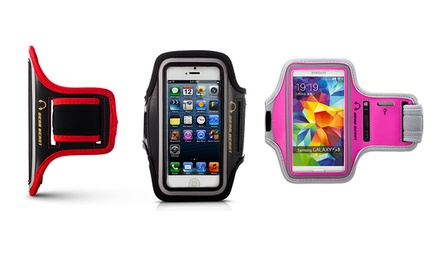 Gear Beast Deluxe Sports Armband with Key Holder for Apple iPhone and Samsung Galaxy and Note Smartphones