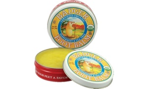 Badger Peppermint and Tea Tree Foot Balm