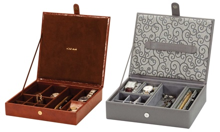 Mele & Co Watch Boxes and Jewellery Cases from £22.99 With Free Delivery