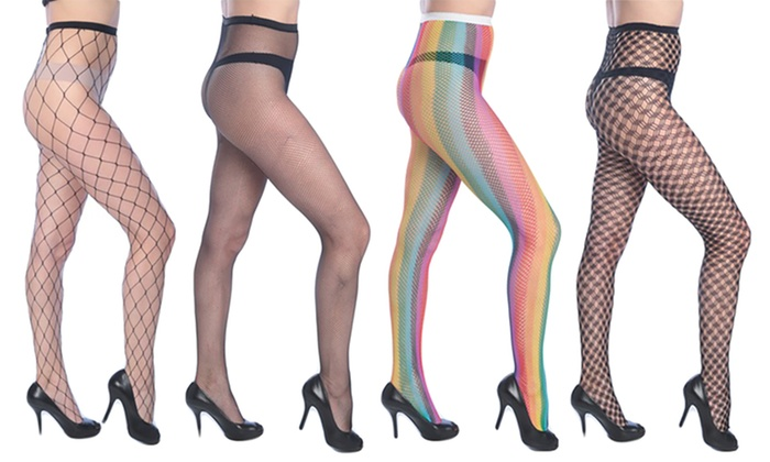 26a233a97 Isadora Women s Bright Fishnet Tights (3-Pack)