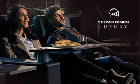 1 entrada de cine en Yelmo Cines Luxury Plaza Norte 2 Madrid por 10,90 €