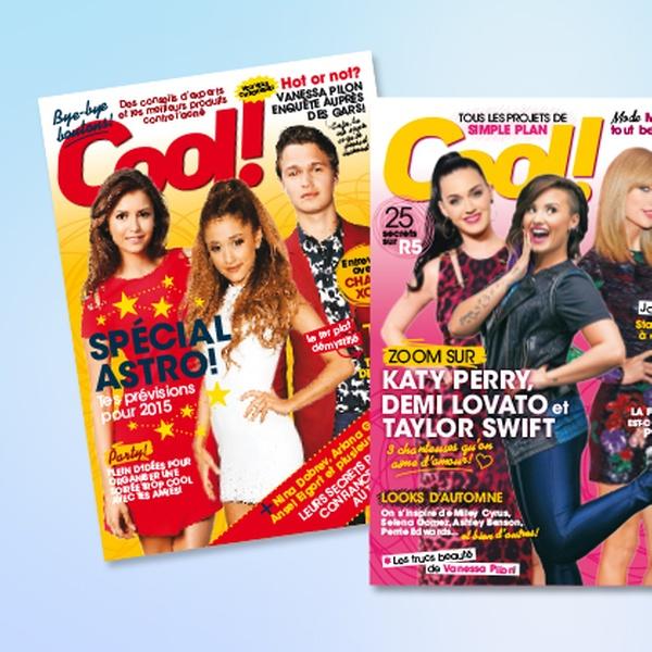 Abonnement revue cool rabais