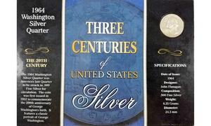 1964 Washington Silver Quarter