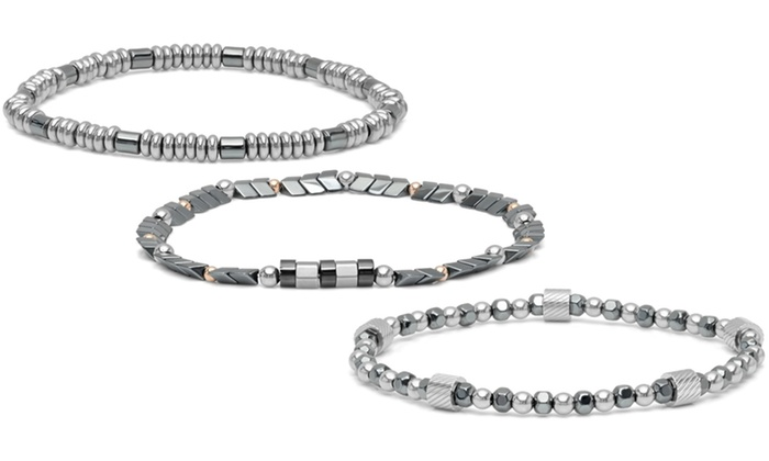 Minoxia Men S Stainless Steel Stretch Bracelets