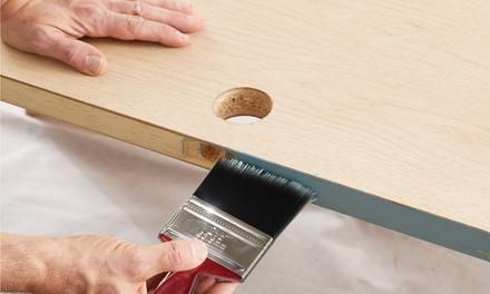 Dekton Five-Piece Durable Paint Brush Set