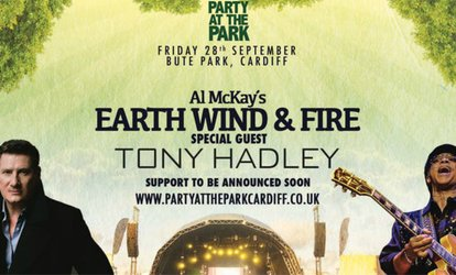 Party In The Park with Al McKay's Earth Wind & Fire, General Admission or VIP Tickets, 28 Sept, Cardiff (Up to 11% Off)