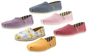 Toms Canvas Women's Shoes
