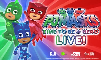 PJ Masks Live! Time To Be A Hero - Tickets from $29.90, 21 September - 14 October, National Tour