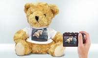 1 ou 2 ours en peluche personnalisés avec Printerpix dès 9,99 € (jusquà 55% de réduction)