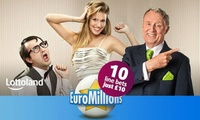 Ten EuroMillions Line Bets from Lottoland (50% Off)