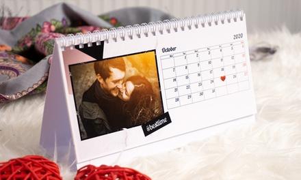 1,2,3 o 5 calendarios de mesa con imágenes personalizables Colorland (con 89% de descuento) Envío no incluido