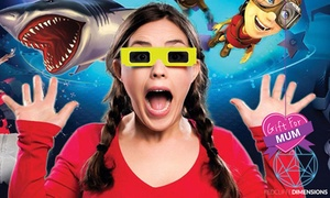 Redcliffe Dimensions: 7D Cinema: One Entry for a Child ($5), Adult ($6) or Family ($19) to Redcliffe Dimensions (Up to $38 Value)