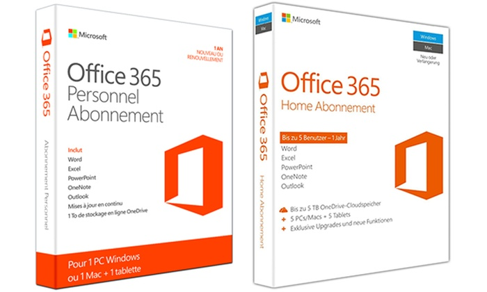 EPTIMUM: Office 365 Home - 2016Version (bis zu 42% sparen*)