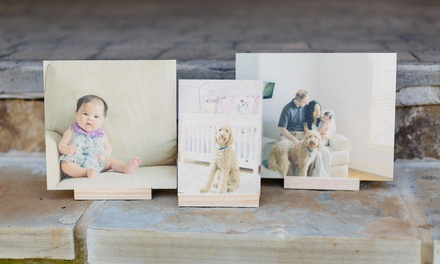 Custom Wood Prints from PhotoBarn (Up to 77% Off). 13 Options Available.