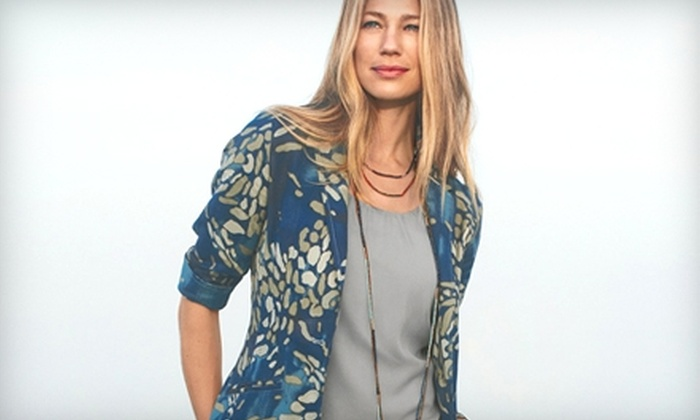 Coldwater Creek - Downtown Grosse Pointe: $25 for $50 Worth of Women's Apparel and Accessories at Coldwater Creek