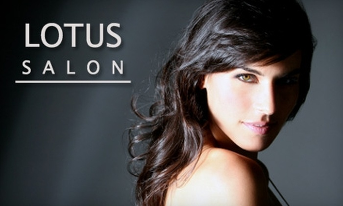 Lotus Salon - Stoughton: $35 for Hair Coloring ($70 Value) or $12 for a Haircut ($26 Value) at Lotus Salon
