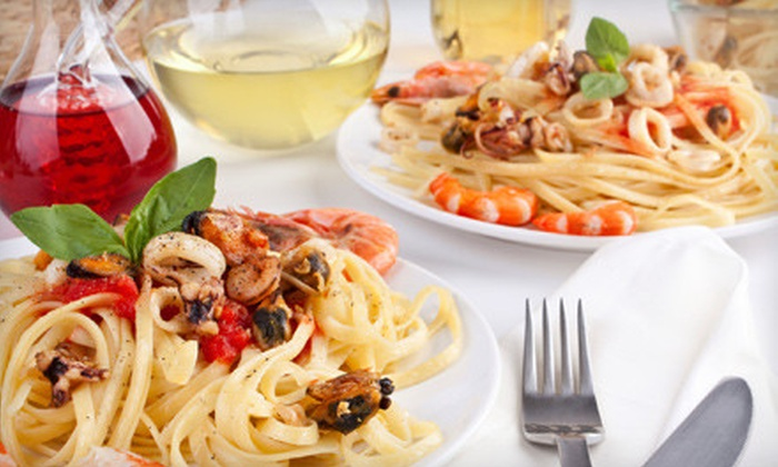 Dinallo's Restaurant - River Edge: $15 for $30 Worth of Italian Cuisine and Drinks and One Dessert at Dinallo's Restaurant in River Edge (Up to $37 Value)