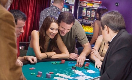 A Casino Event Entertainment Company: 1 Professional Dealer, 1 Poker Table, and 1 Blackjack Table - A Casino Event Entertainment Company in