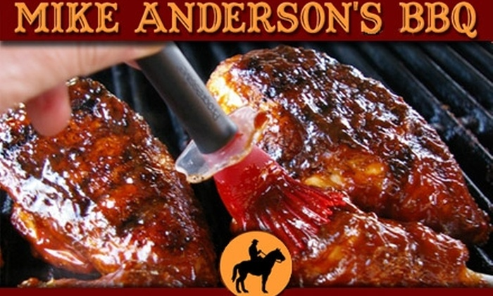 Mike Anderson's BBQ - Northwest Dallas-love Field: $10 for $20 Worth of Smoky Barbecue and Drinks at Mike Anderson's BBQ