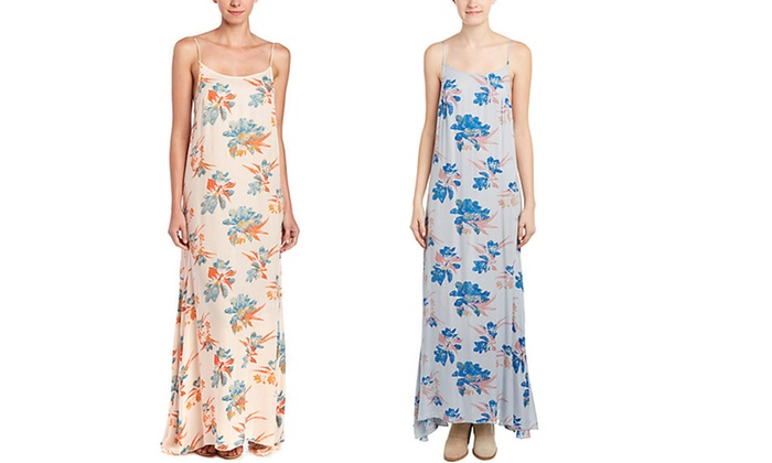 Free People Women's Floral Maxi Dress: Free People Women's Floral Maxi Dress