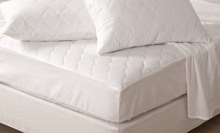 Lauren Taylor 230-Thread-Count Antibacterial Mattress Pad. Multiple Sizes Available from $29.99–$49.99.