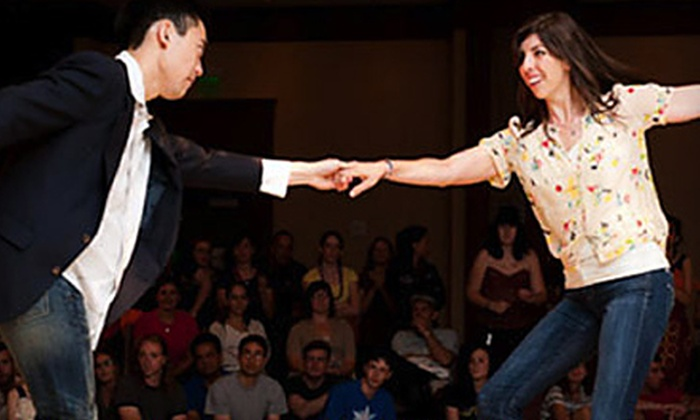 The Lindy Project - Multiple Locations: Four Swing-Dancing Classes for One or Two People from The Lindy Project