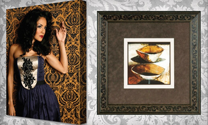 Museum Quality Framing - Camarillo: Canvas Printing or Custom Framing at Museum Quality Framing in Camarillo (Up to 66% Off). Two Options Available.