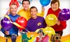 """""""The Wiggles Big Birthday!"""" - Studio City: One Ticket to See """"The Wiggles Big Birthday!"""" at the Gibson Amphitheatre at Universal CityWalk on August 14. Two Showtimes Available."""