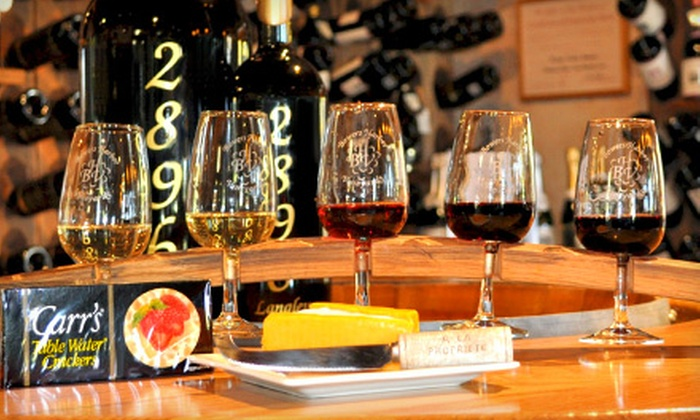 Bowers Harbor Vineyards - Traverse City: $25 for a Wine-Tasting Package for Two at Bowers Harbor Vineyards in Traverse City (Up to $50 Value)