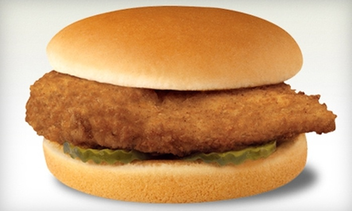 Chick-fil-A - Orland Park: $3 for Two Original Chicken Sandwiches at Chick-fil-A ($6.53 Value) in Orland Park