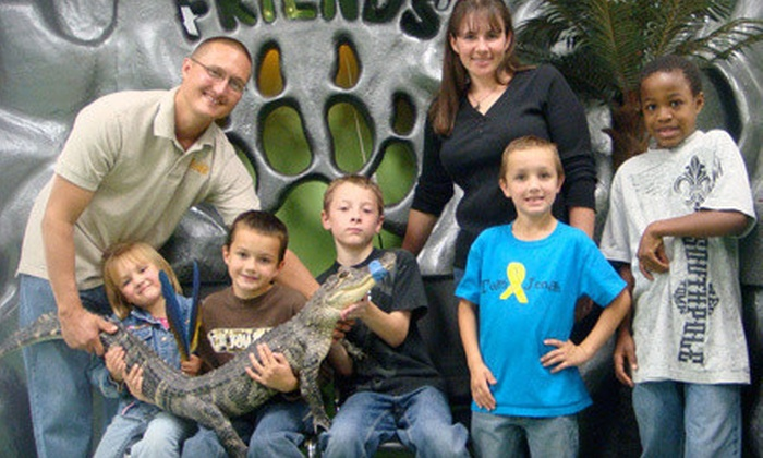 Safari Joe's Reptile World - Adair: VIP Family Fun Pass for Up to 5 or Birthday Party Package for Up to 25 at Safari Joe's Reptile World in Adair (Up to 61% Off)