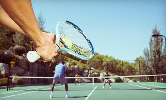 Boston Ski + Tennis - Multiple Locations: Tennis-Racket Restringing or $20 for $40 Worth of Tennis Apparel at Boston Ski + Tennis