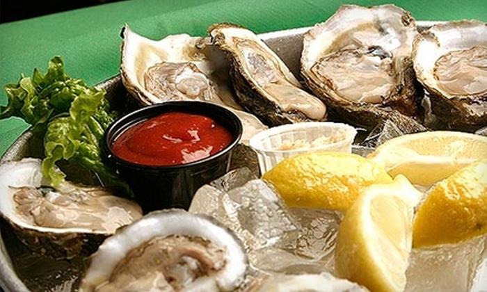 Joe's Seafood Bar - Downtown: $9 for $18 Worth of Seafood, Drinks, and More at Joe's Seafood Bar