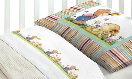 Completo lenzuola per lettino