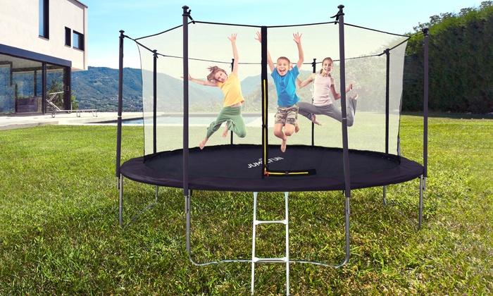 Groupon Goods Global GmbH: Trampolines Jump4Fun, de 185 à 427 cm de diamètre