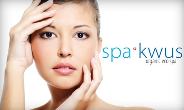 SpaKwus Organic Eco Spa - Grandview-Woodland: $69 for One Body Wrap and Facial at SpaKwus Organic Eco Spa ($139 Value)