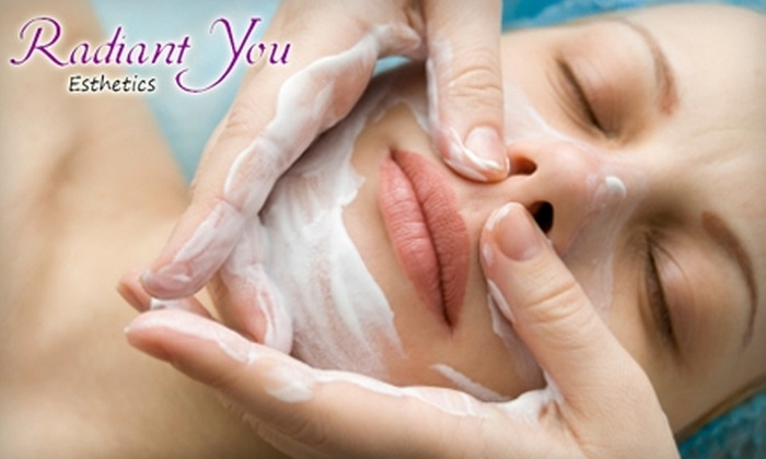 Radiant You Esthetics - Riverside: $45 for a 75-Minute Facial at Radiant You ($90 Value)