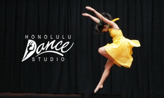 Honolulu Dance Studio - Ala Moana - Kakaako: $30 for Four One-Hour Dance Classes (Up to $65 Value) or $50 for Eight One-Hour Classes (Up to $125 Value) from Honolulu Dance Studio