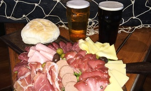 BarbaRoja: Desde $239 por picada para 2, 4 o 6 personas + degustación de cervezas artesanales en BarbaRoja