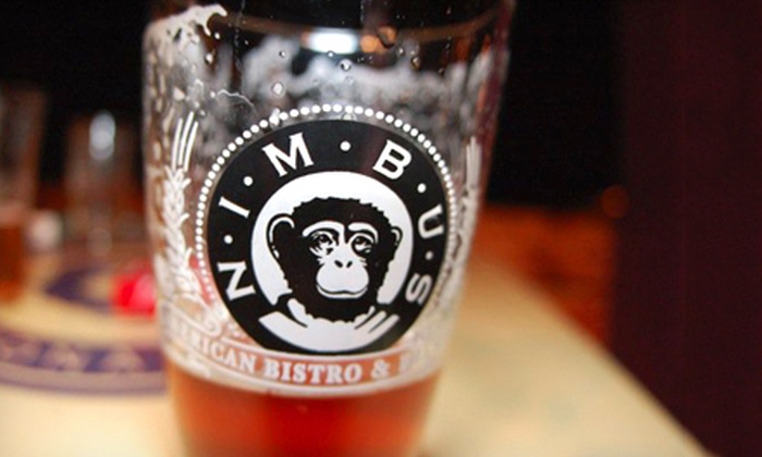 Nimbus American Bistro N' Brewery - Ward 2: $15 for $30 Worth of Burgers, Wood-Fired Pizza, and Craft Beer at Nimbus American Bistro N' Brewery