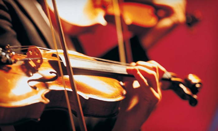 "Tucson Symphony Orchestra - Catalina Citrus Estates: $45 for Outing for Two to Tucson Symphony Orchestra's ""Outside of the Bachs"" on November 4 at 8 p.m. ($90 Value)"