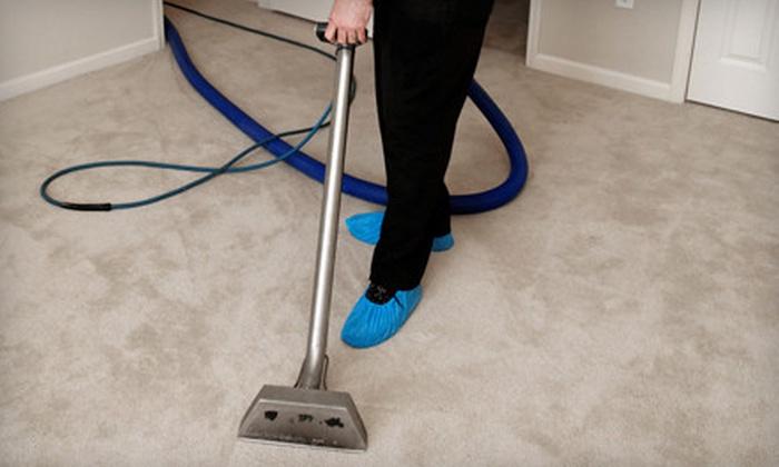 RJ's Carpet Cleaning Services, LLC - Ward 6: Three or Five Rooms of Carpet Cleaning from RJ's Carpet Cleaning Services, LLC (Up to 53% Off)