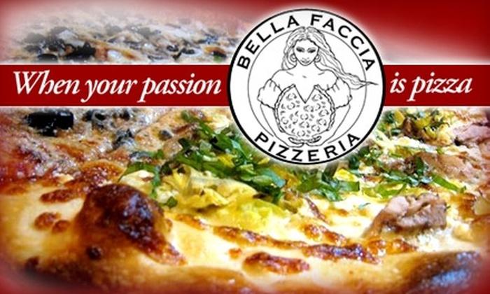 Bella Faccia Pizzeria - Concordia: $7 for $15 Worth of Meat and Vegan Pizza Pies and Beverages at Bella Faccia Pizzeria