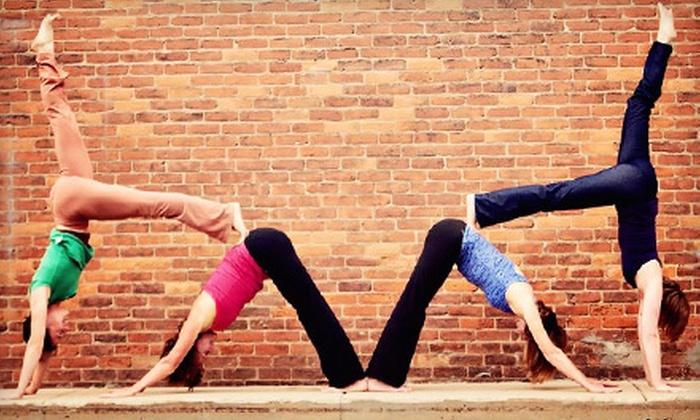 Sanctuary Yoga Highwood - Highwood: Five or Eight Classes at Sanctuary Yoga in Highwood (Up to 66% Off)