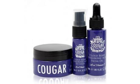 1 o 2 sets de aceite, crema y suero Cougar Beauty